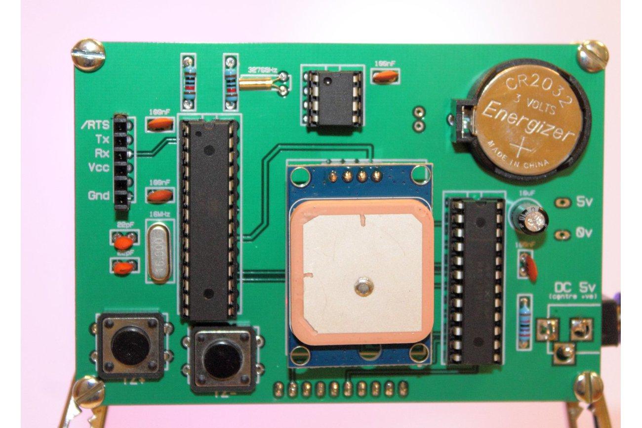 GPS-Controlled Binary Clock Kit