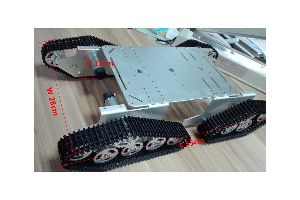 4WD Metal robot Wall-E Tank Track 6