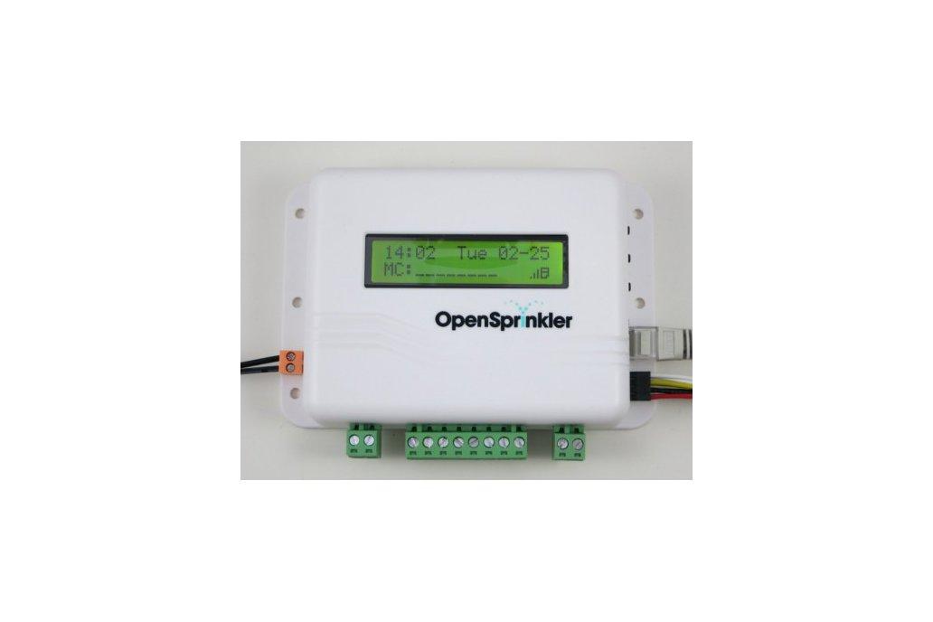 OpenSprinkler: Internet-based Sprinkler Controller 1