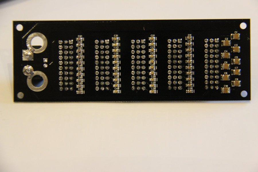 Five Decade Prog Capacitor - 100pF to 9.999uF 100V