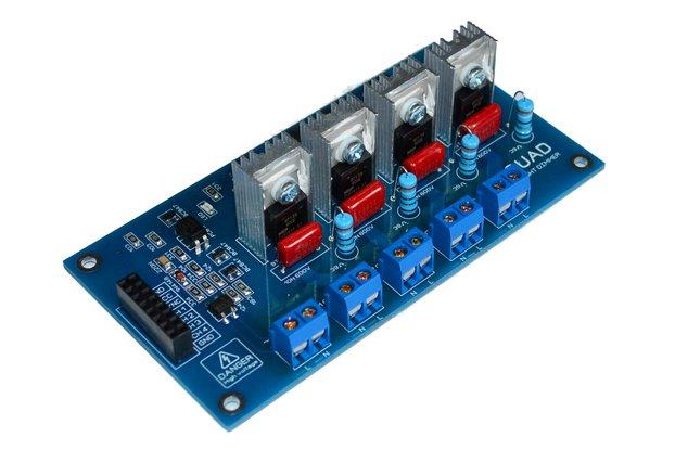 4CH AC LED Light Dimmer V2 Module Controller Board