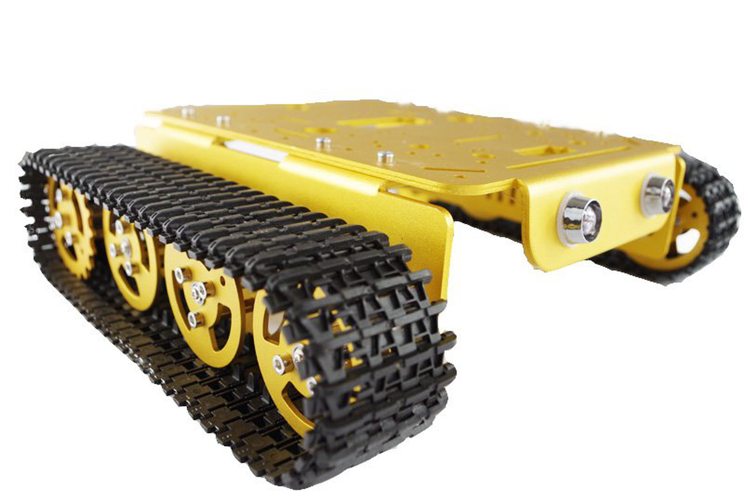 T metal robot tank car chassis from doit am on tindie