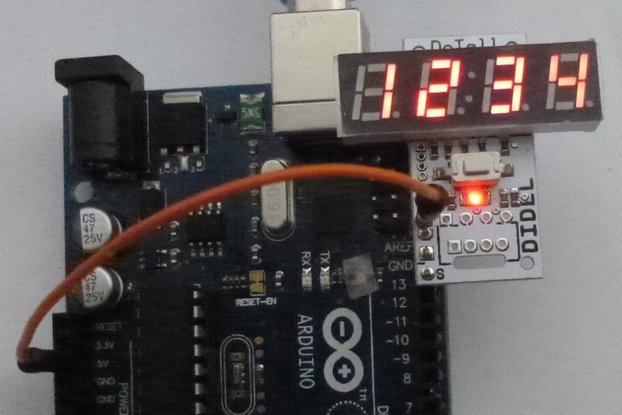 DiTell b - A low cost 4-digit debugging display