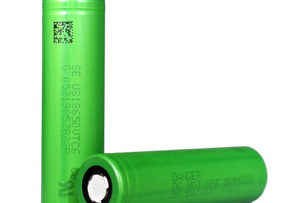 2 pieces Li-Ion Battery  SONY VTC6 3000mAh 30A