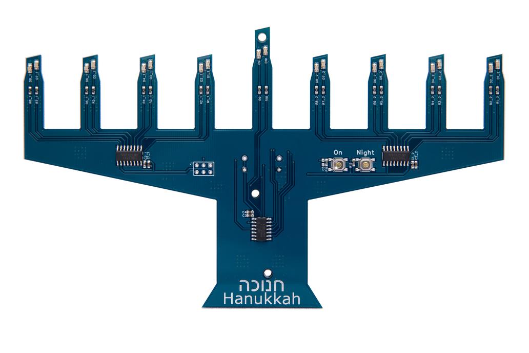 Electronic Menorah Model II -- KIT 1
