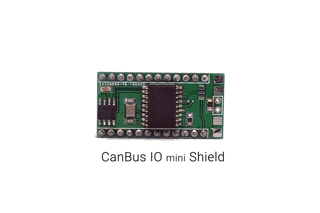 MCP2515 CAN Bus Shield for Arduino Pro Mini/Micro