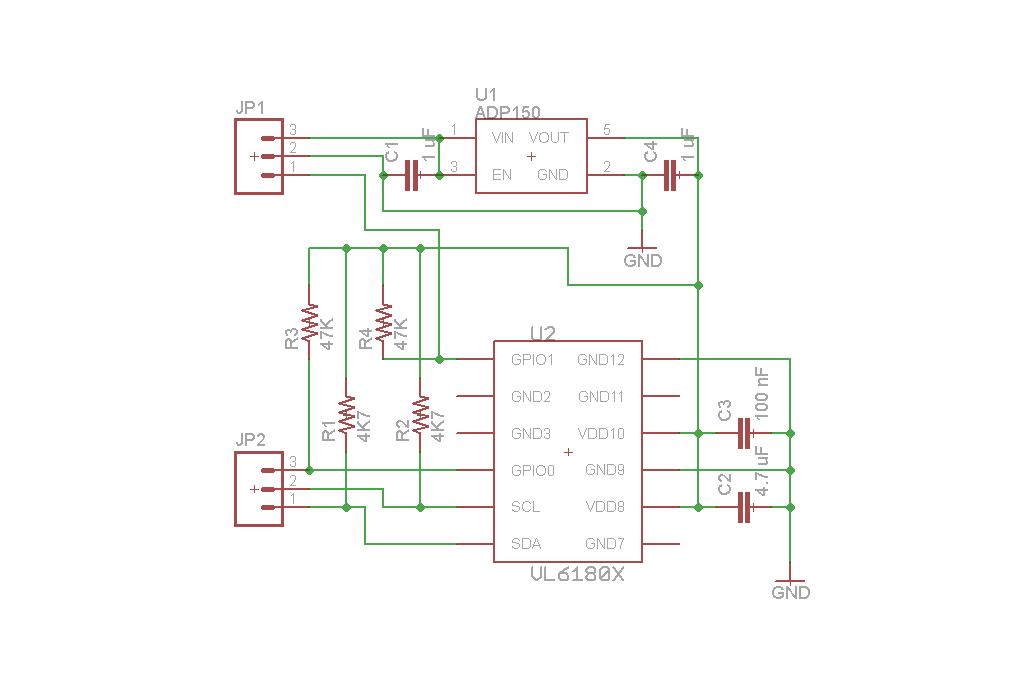 VL6180X proximity sensor 5