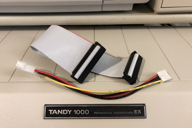 "Tandy 1000 EX Internal 3.5"" Drive conversion Kit"
