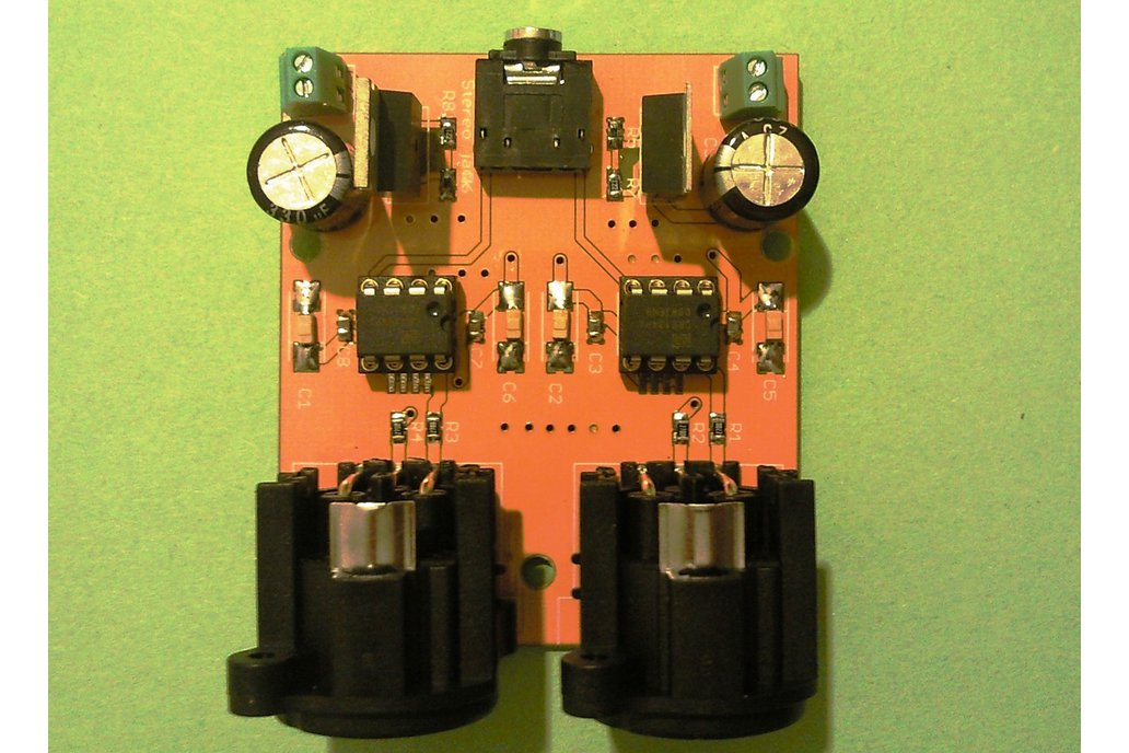 Audio-Balanced Line Driver Board 1