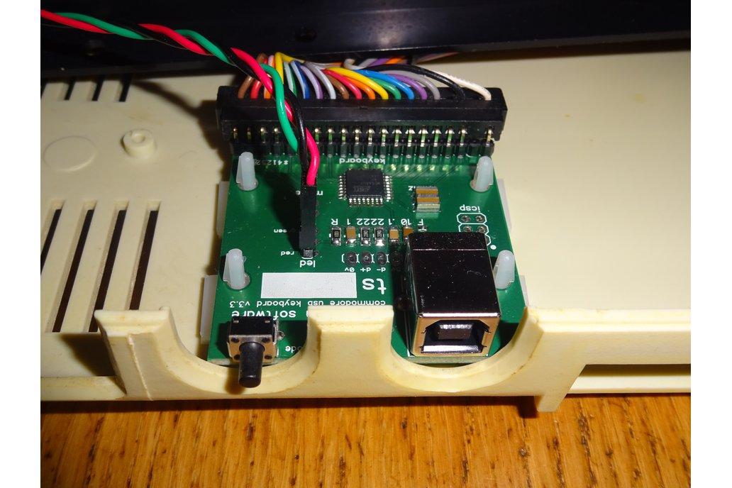 Commodore 64 USB keyboard kit 4
