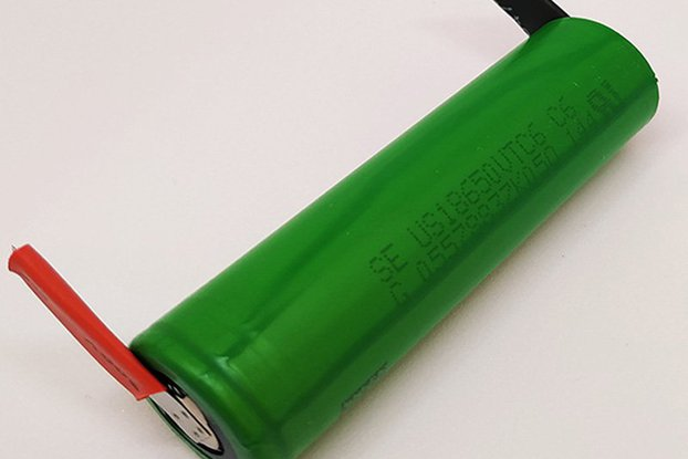 Li-Ion Battery VTC6 3000mAh 30A - with TABS
