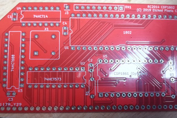 1802 Processor Card for RC2014™ PCB only