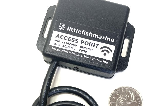 NMEA to WiFi. 4800/38400. Access Point. Mux