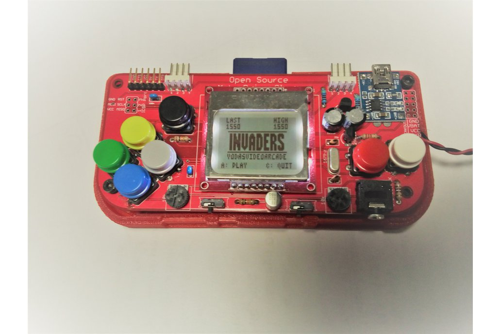 Gamebuino Portable Console - Open Hardware/Source 1