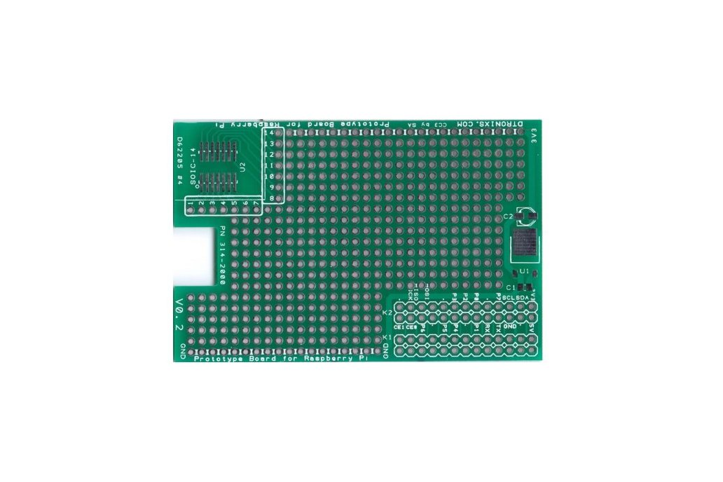 Raspberry PIIO - RPi ProtoBoard board (PCB only) 1