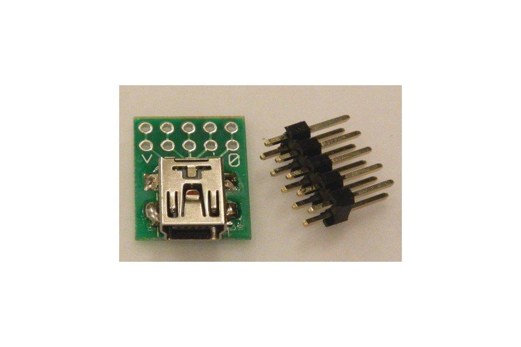 USB-mini breakout  1