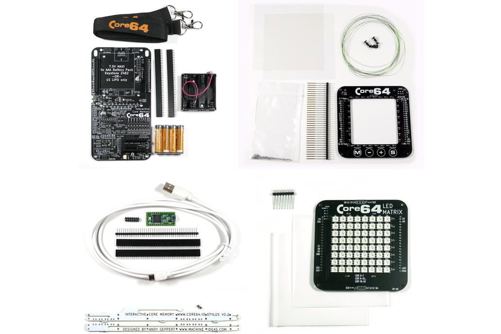 Core64 Interactive Core Memory - Beta Kit 1