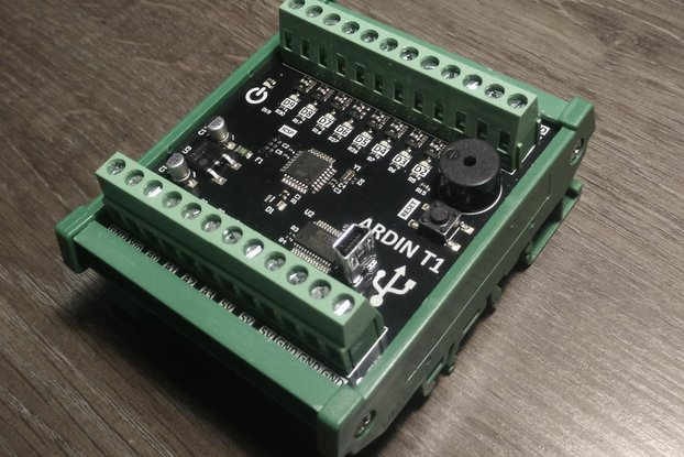 ARDIN - DIN rail mounted Arduino