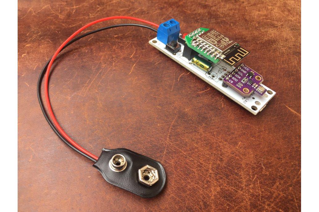 WIFI Air Quality, Temp/Humi/Pressure tracker S6 2