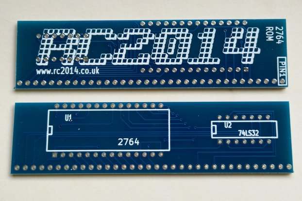 Two 8k 2764 EPROM board for RC2014