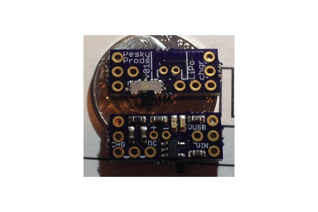 LiPo battery charger add-on for Teensy 3.1 2