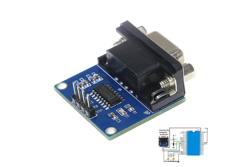RS232 to TTL Serial Port Converter Module 4