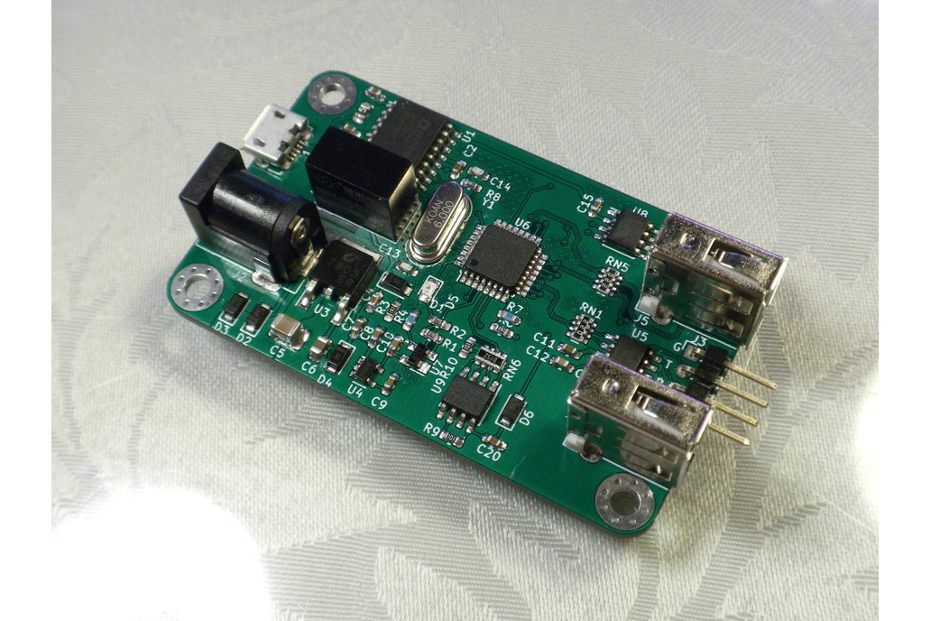2-port Isolated USB Full-Speed Hub 1