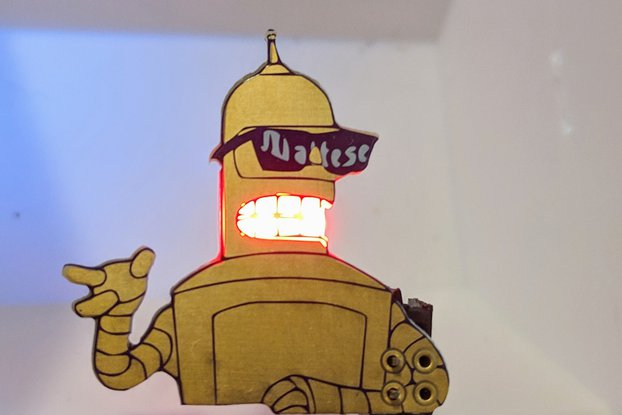 Future-O-Rama Golden Bend-her Robot SAO