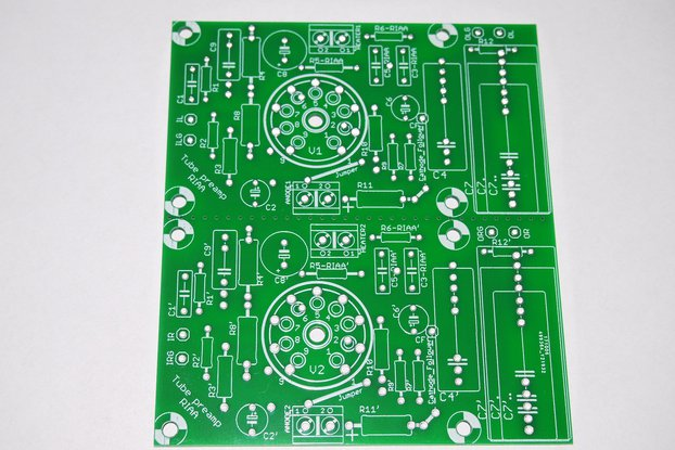 Universal PCB for tube pre SRPP/CCDA ECC88 ECC82 from stereo24 on Tindie