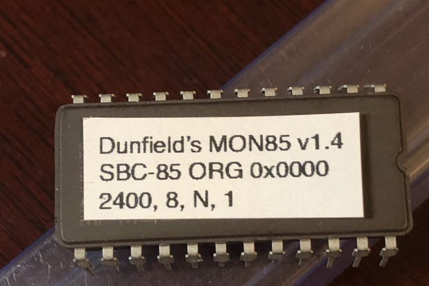 SBC-85 CPU PROGRAMMED EPROM - PICK CONTENTS