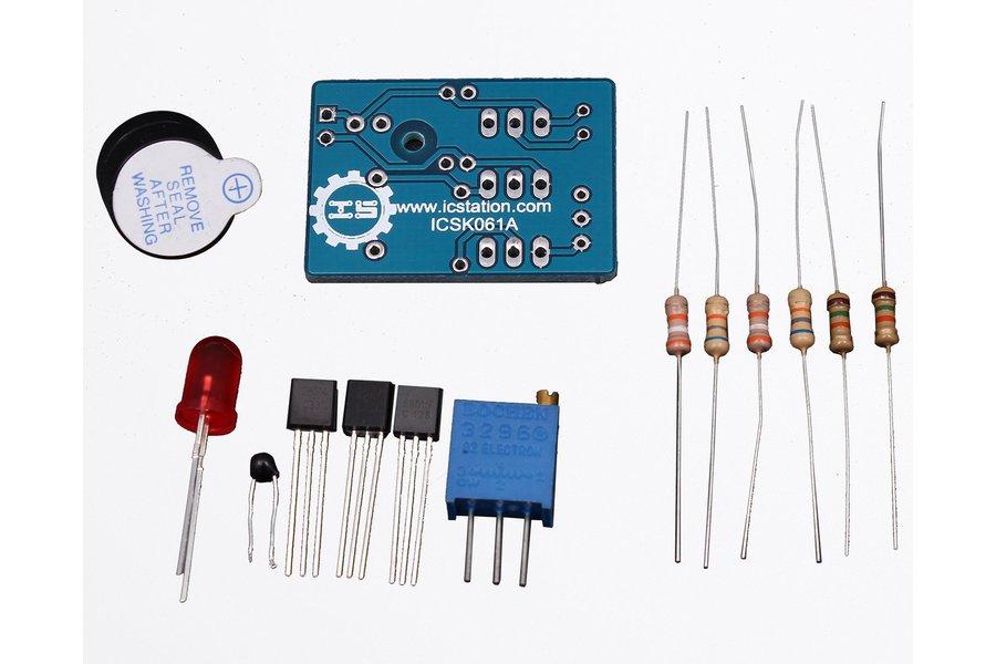 Temperature Control Sound Light Alarm DIY(5425)