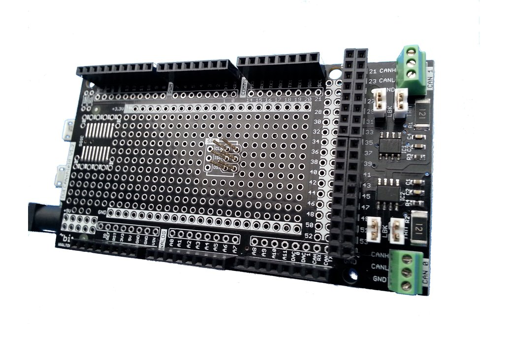 Arduino DUE CANShield 1