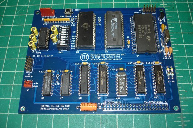 Glitch Works R6501Q/R6511Q Single Board Computer