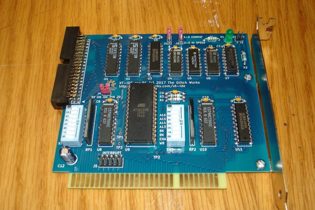 XT-IDE rev 4 Assembled/Tested 8 Bit ISA GW-XTIDE-4