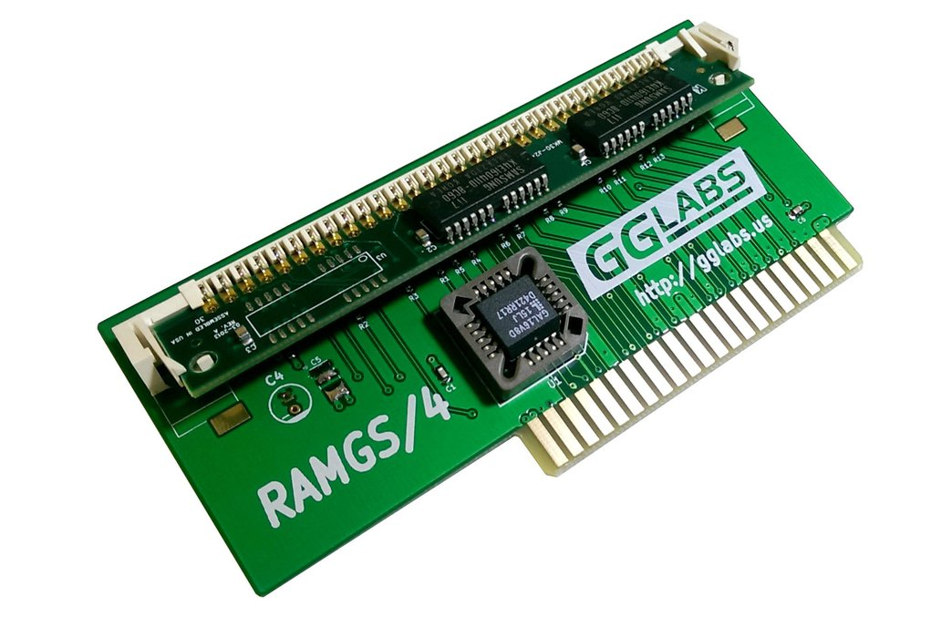 RAMGS/4 - 4MB expansion for Apple IIgs 1