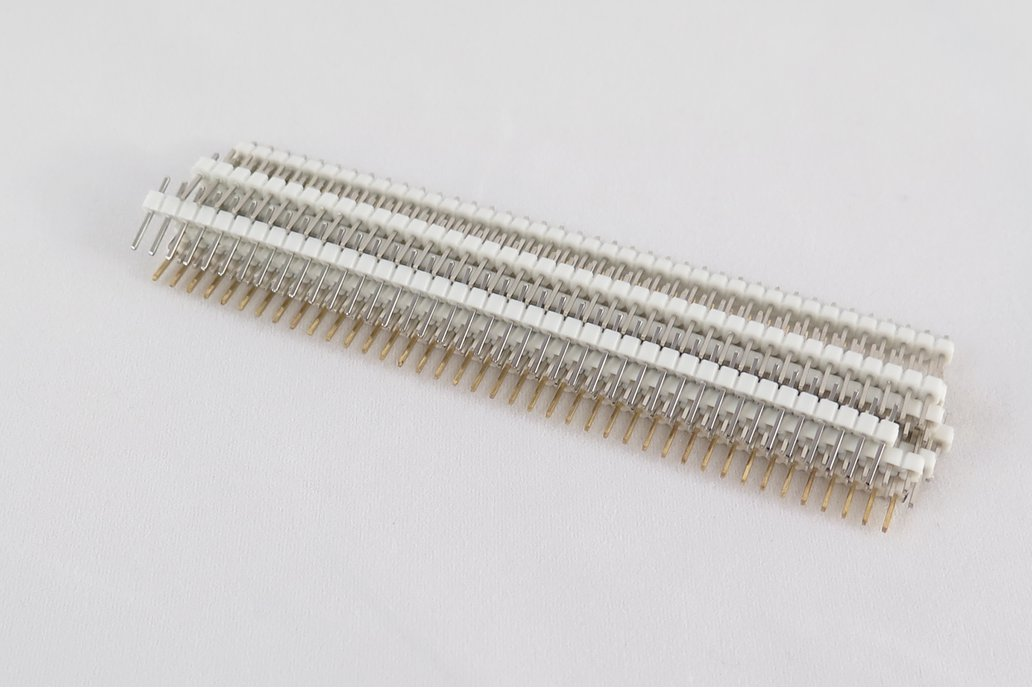 Pack of 10 color 40 pin male header 4