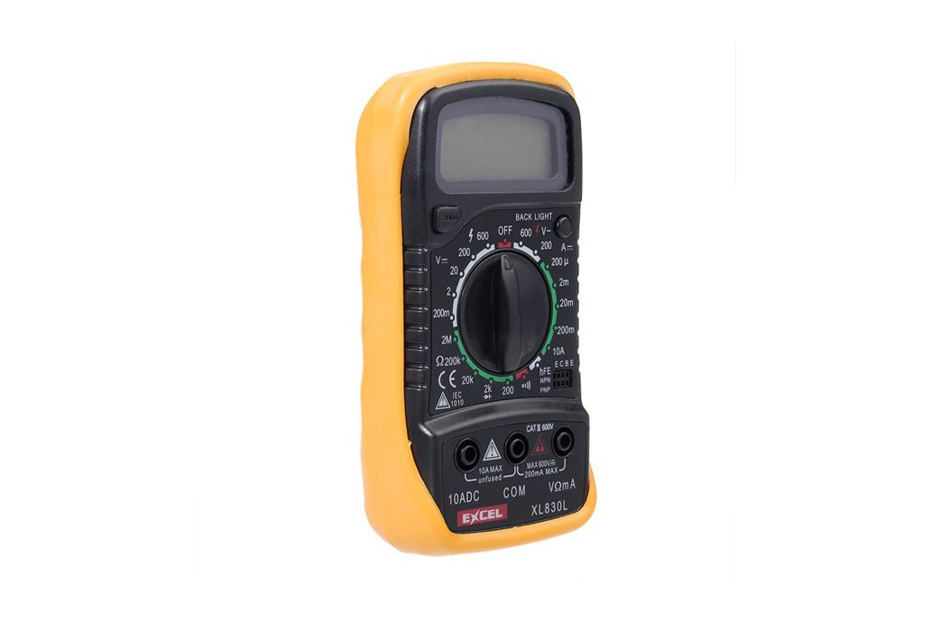 LCD Digital Voltmeter Ohmmeter Ammeter Tester  5
