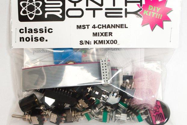 MST 4-Channel Audio / CV Mixer DIY Kit