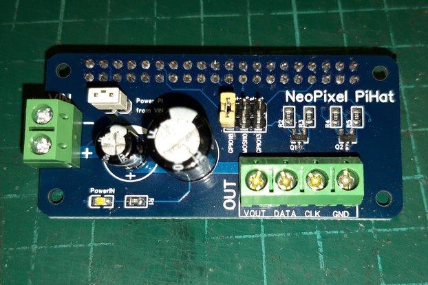 NeoPixel Pi Hat