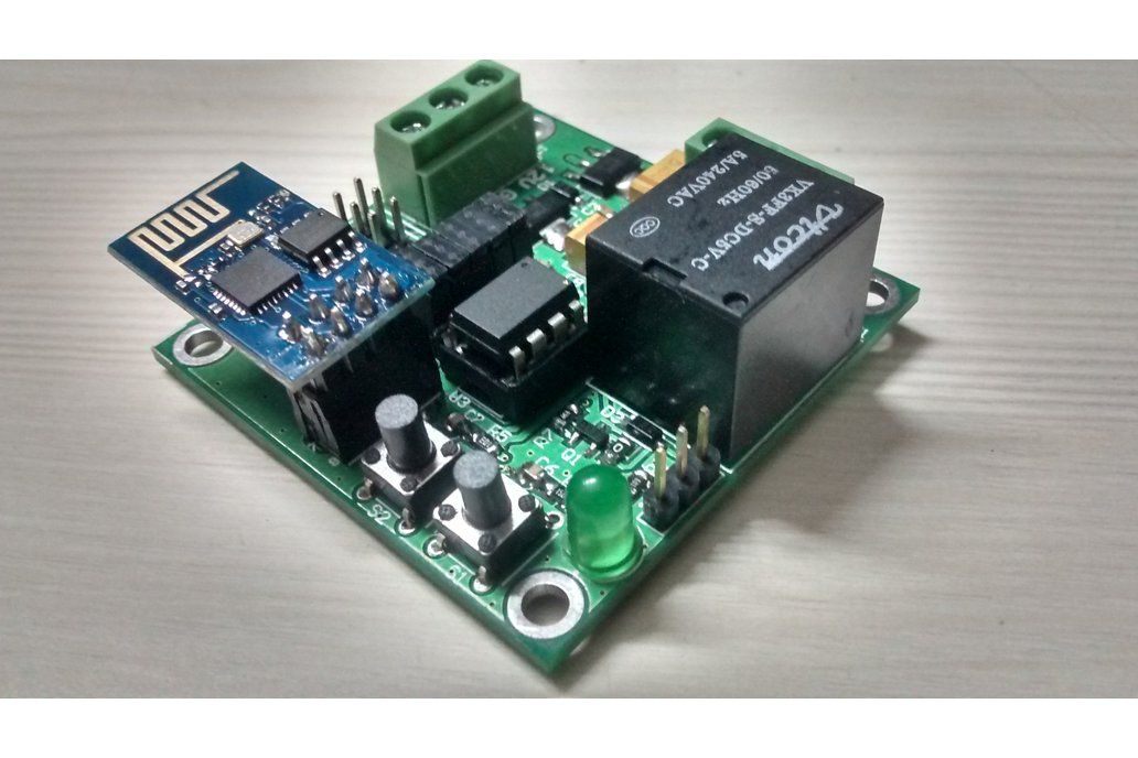 ESP8266 WIFI with Attiny85 & Relay for IOT 1
