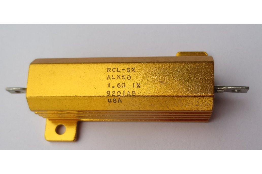 Precision 50W Resistor/Shunt 1% [16Ω or 1.6Ω] 2