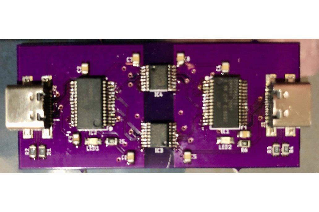 Isolated USB null modem 1