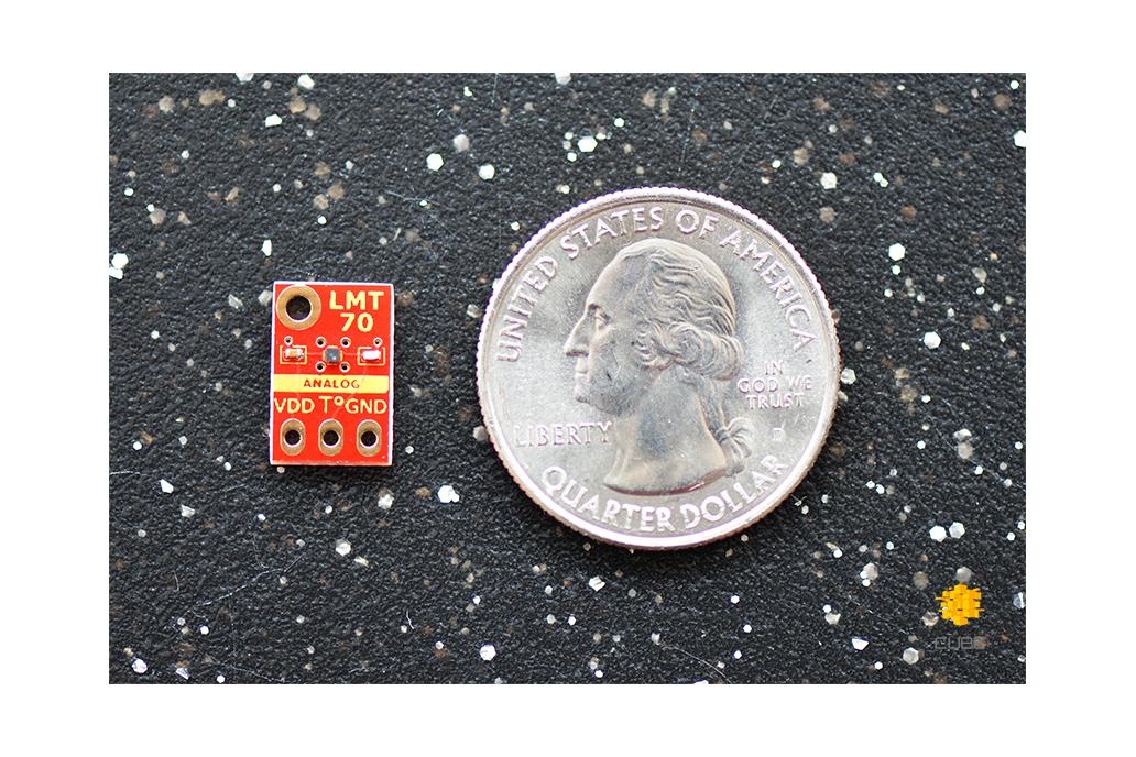 LMT70  ±0.1°C Precision Analog Temperature Sensor 3