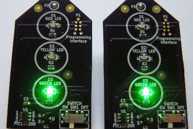 Traffic Jam Traffic Light Earrings