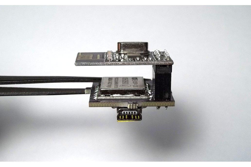 ESP8266 + nRF2401 wireless development kit 3