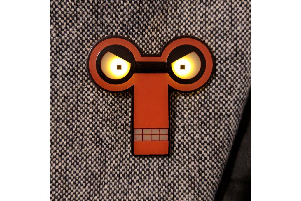 """Ha-HAA!"" Badge (Inspired by Roberto) 1"