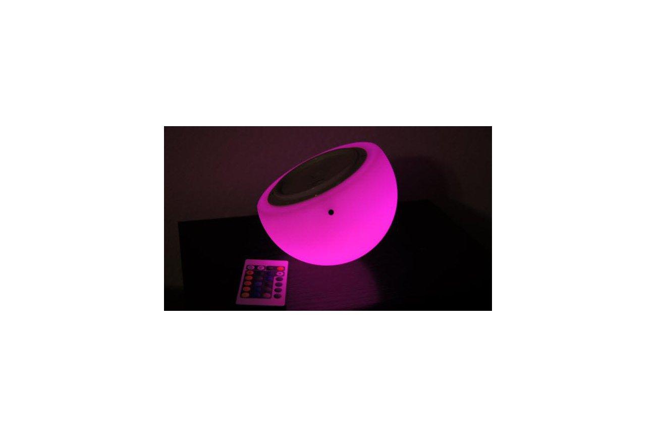 "Brighttone 6"" music activated RGB LED Mini Moon"