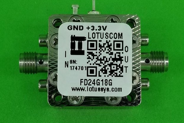 Frequency Divider/Prescaler Divide by 2 (4~18 GHz)