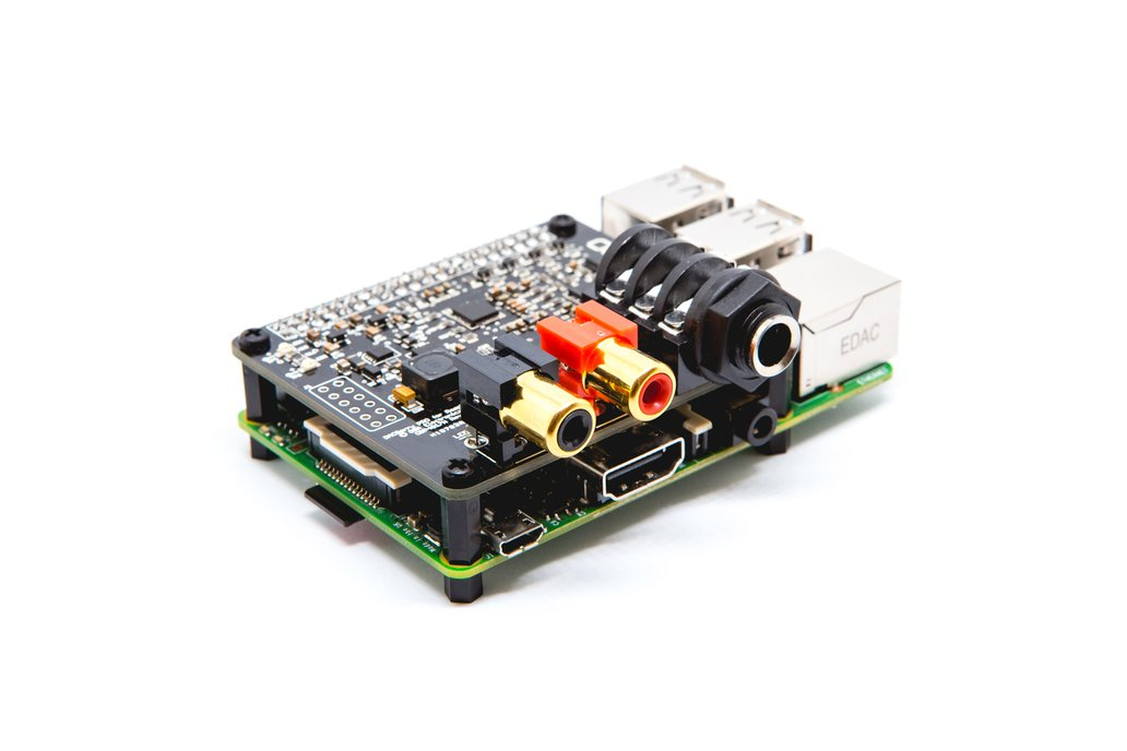 DACBerry PRO for Raspberry Pi Sound Card 2