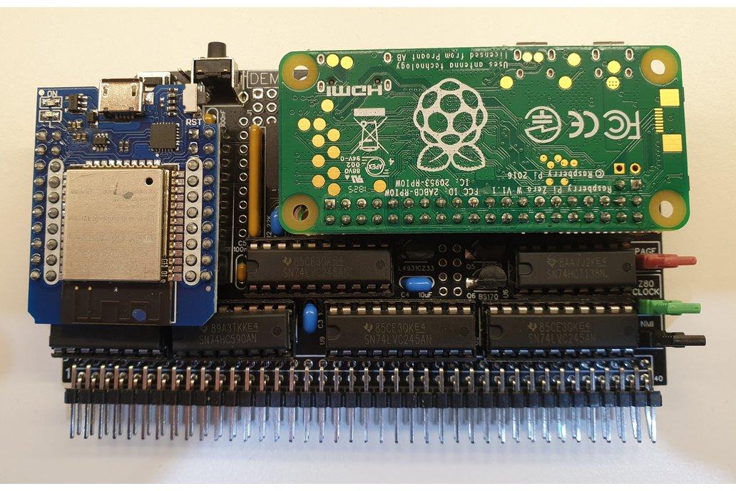 BusRaider Graphics, WiFi & Debug Kit for RC2014 1